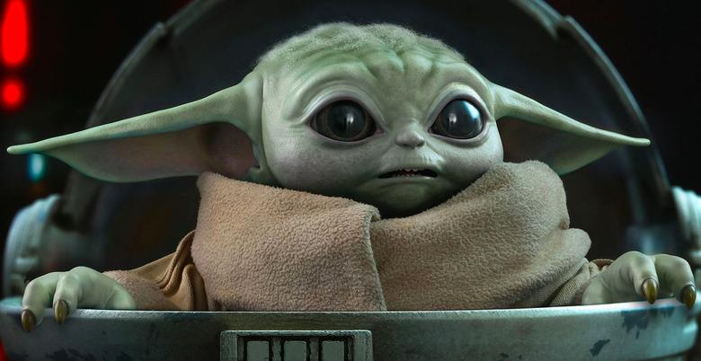 Hot Toys Life-Size Baby Yoda Figure