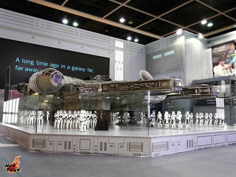Hot Toys Millennium Falcon: Hot Toys Announces 18-Foot Sixth Scale Star Wars Millennium Falcon