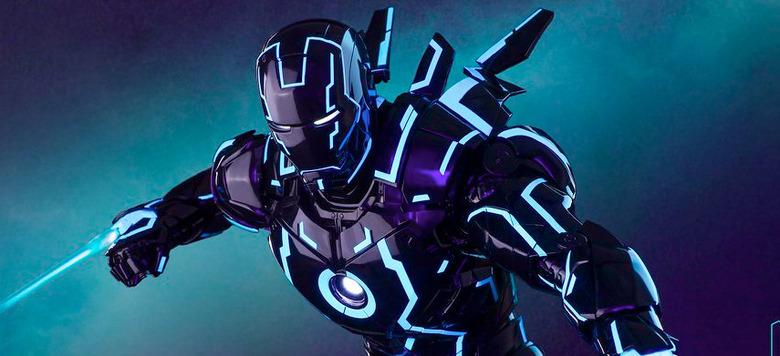 Hot Toys Neon Tech Iron Man