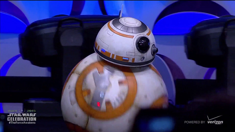 BB-8 effects