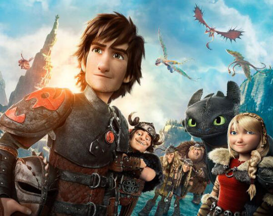 train your dragon 2 opening