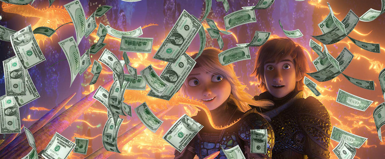 how to train your dragon the hidden world box office