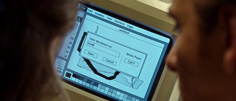 Tv and Computer Screens in Movies - Steve Jobs