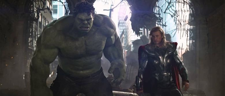 hulk talking in thor 3