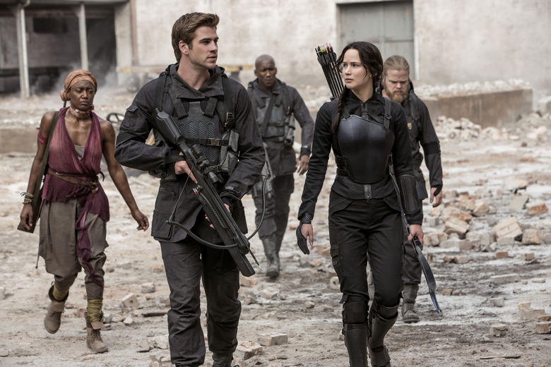 Hunger Games MockingJay part 1 review