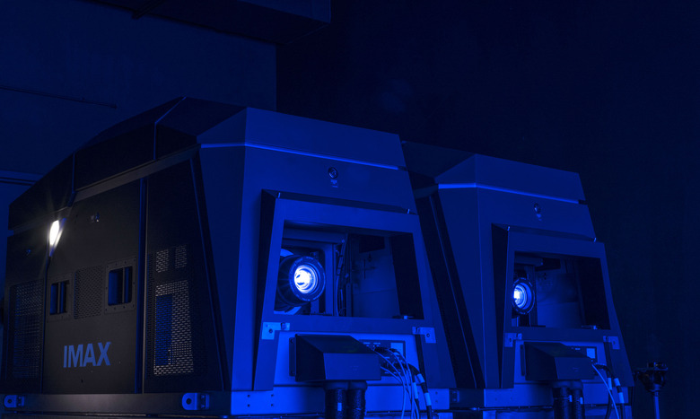 IMAX Laser Projection System