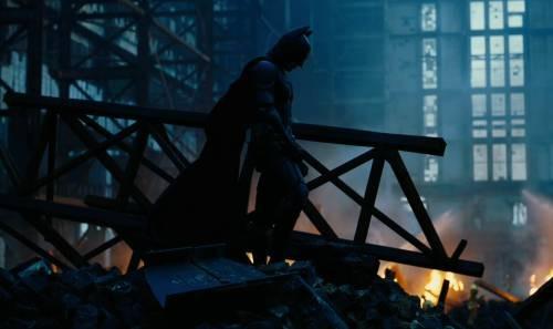 The Dark Knight mourns