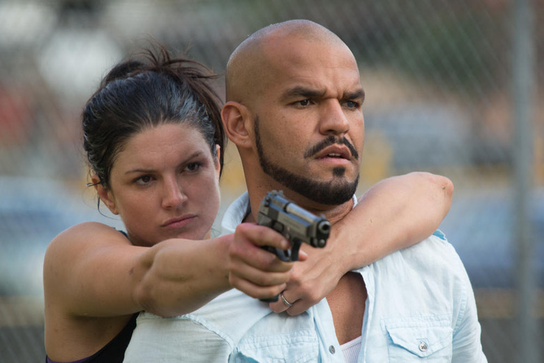 Gina Carano and Amaury Nolasco in In the Blood