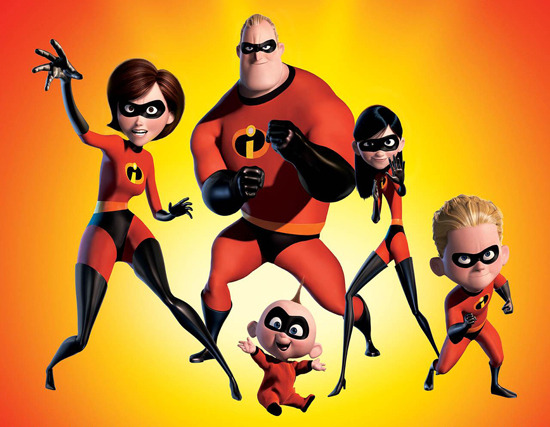 Incredibles 3D re-release