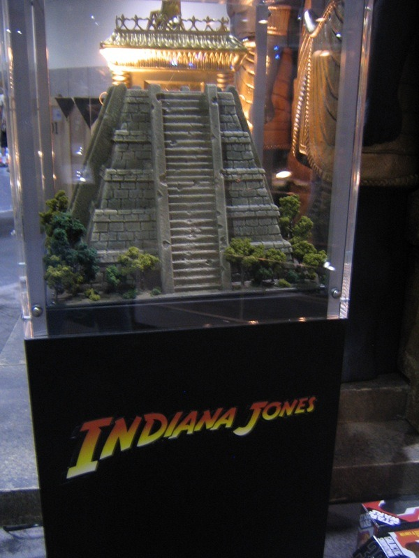 Indy 4 Comic Con display