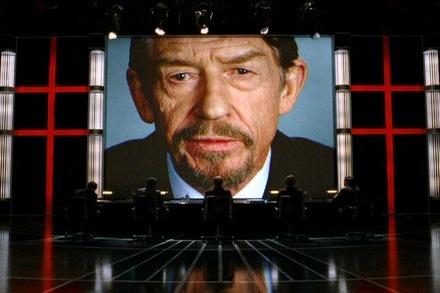 John Hurt in V for Vendetta