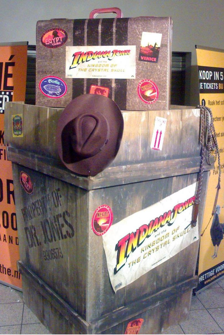 Indiana Jones 4 Display