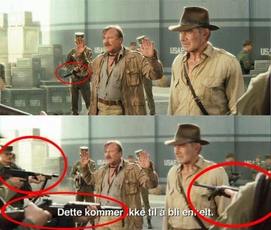 Indiana Jones Trailer Guns