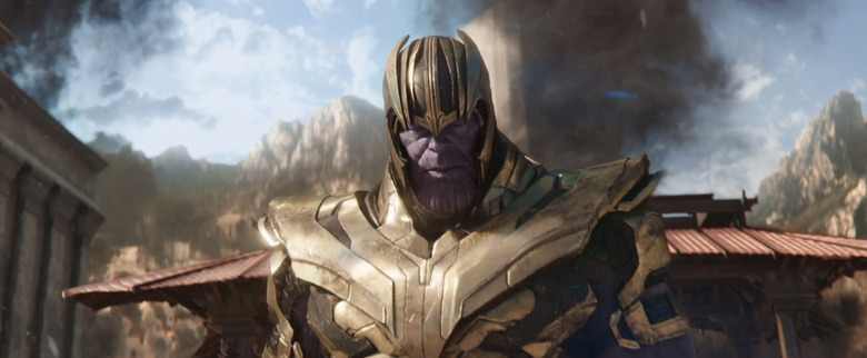 Avengers Infinity War ending
