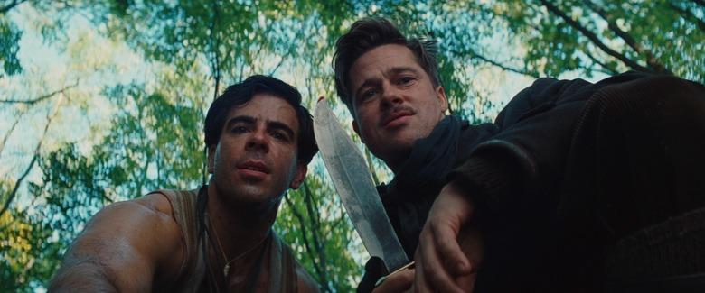 Inglourious Basterds - Brad Pitt & Eli Roth