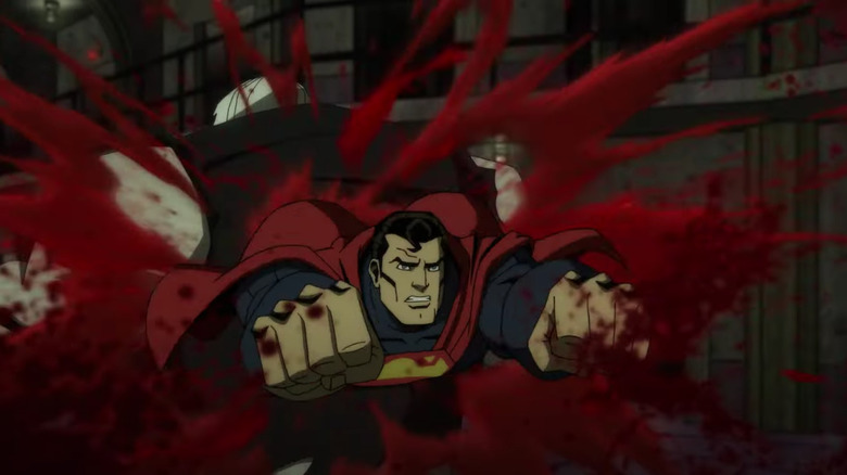 Injustice Red Band Trailer: Superman Goes Dark In Blood-Drenched New Look
