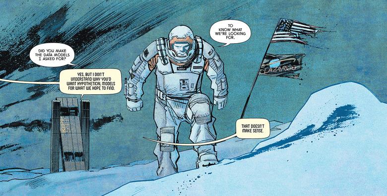 Interstellar comic header