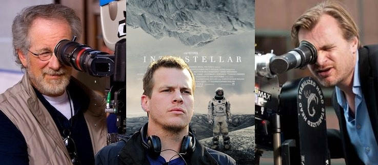 interstellar script differences steven spielberg christopher nolan and jonathan nolan