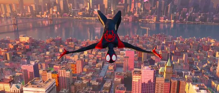 Into the Spider-Verse technique