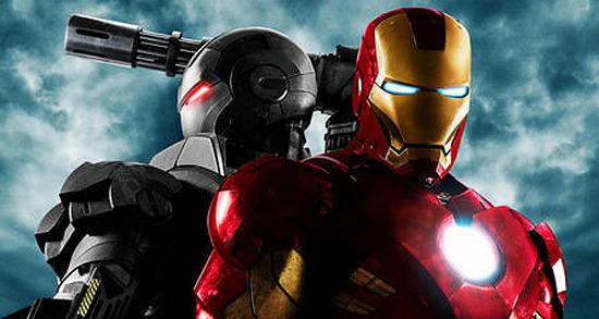 iron man 2 poster top