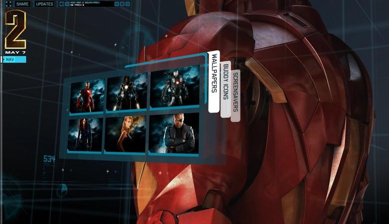 Iron Man 2 website