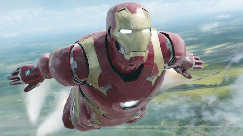 Iron Man in Spider-Man Homecoming