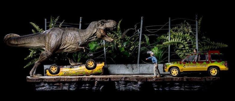 Jurassic Park Diorama Set