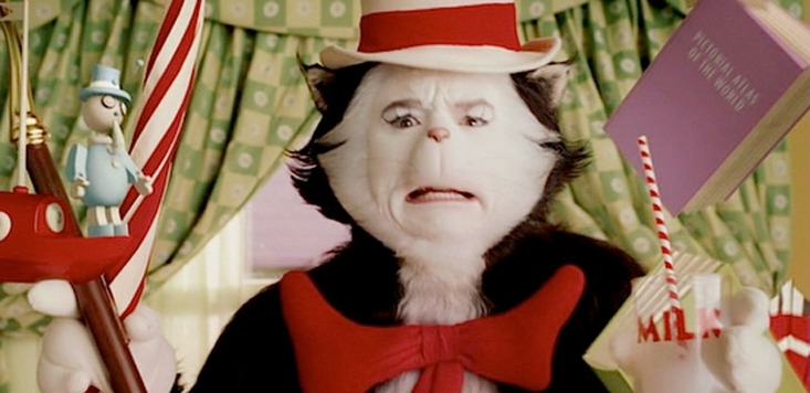It trailer mash-up with The Cat in the Hat
