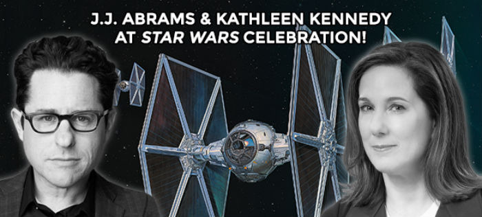 Abrams Kennedy Star Wars Celebration