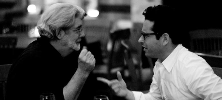 J.J. Abrams Talked to George Lucas