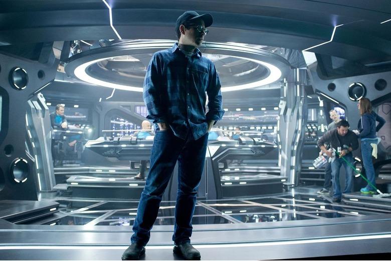 JJ Abrams on a new Trek vessel.