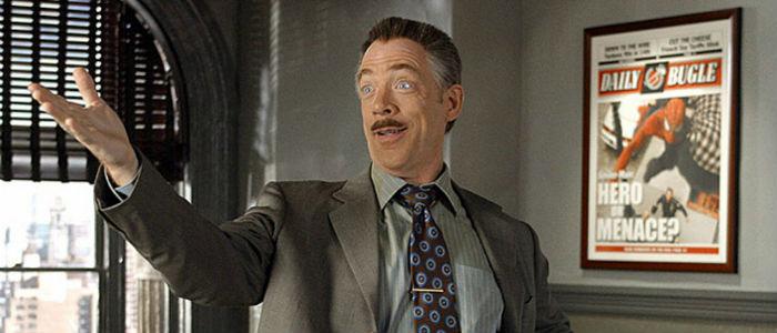 J.K. Simmons Spider Man J Jonah Jameson