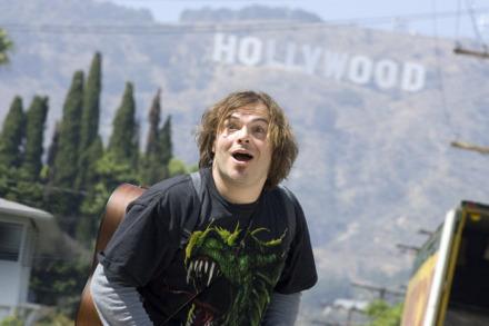 Jack Black in Hollywood