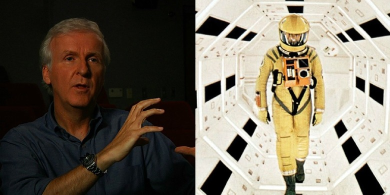 james cameron on 2001 a space odyssey