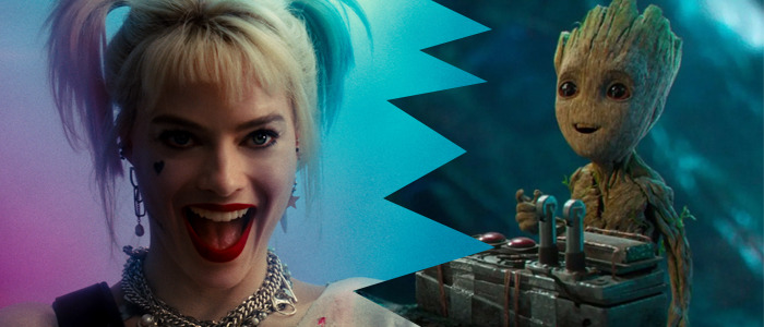 harley quinn and groot crossover movie