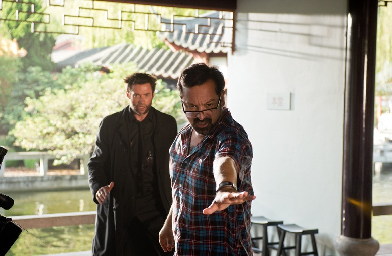 James Mangold directs Hugh Jackman in The Wolverine