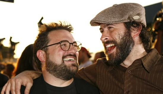 Jason Lee and Kevin Smith