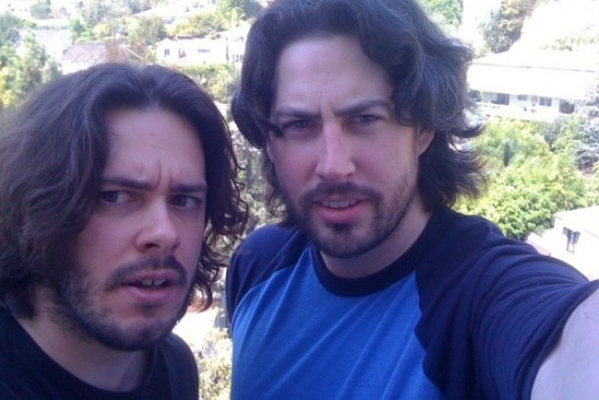 Edgar Wright and Jason Reitman
