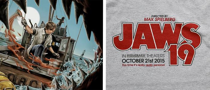Jaws shirts