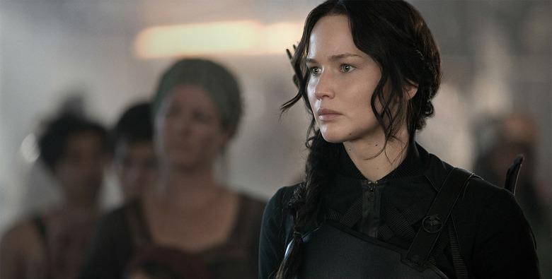 Hunger Games Mockingjay 1 Jennifer Lawrence