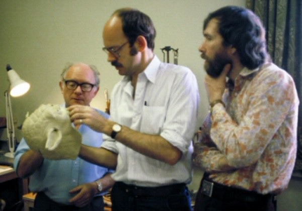 Jim Henson, Frank Oz and Yoda Star Wars 7 and Jim Henson