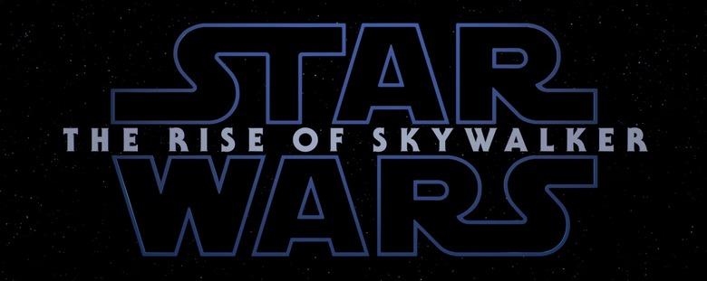 Star Wars: The Rise of Skywalker logo