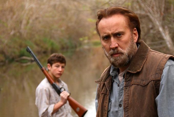 Tye Sheridan and Nicolas Cage in David Gordon Green's Joe
