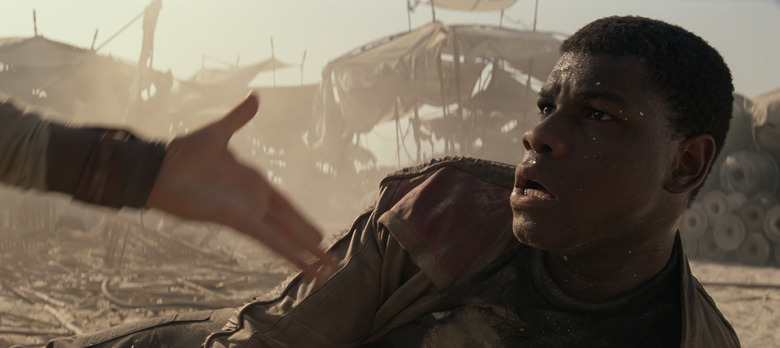 John Boyega Star Wars Force Awakens Jakku