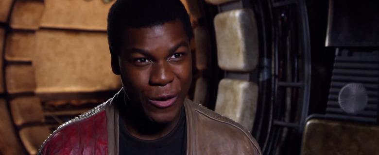 Star Wars: The Force Awakens: john boyega
