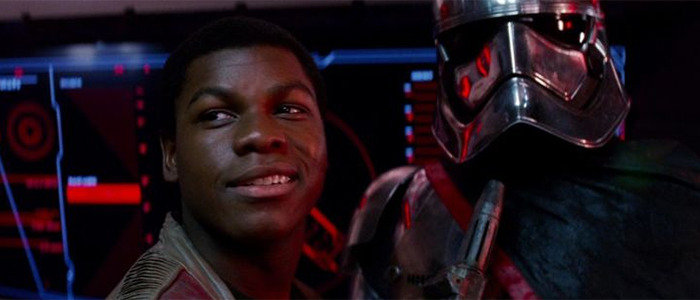 John Boyega's Star Wars Reaction