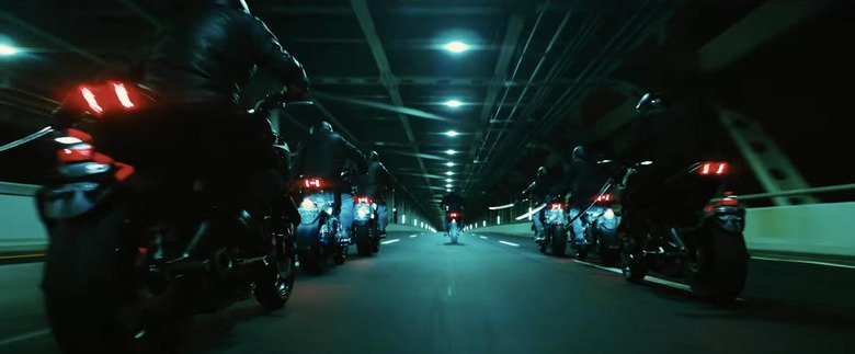 John Wick 3 Motorcycle Chase Featurette