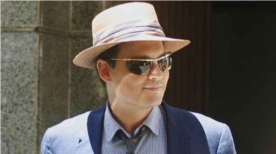 Johnny Depp in The Rum Diary [set photo]