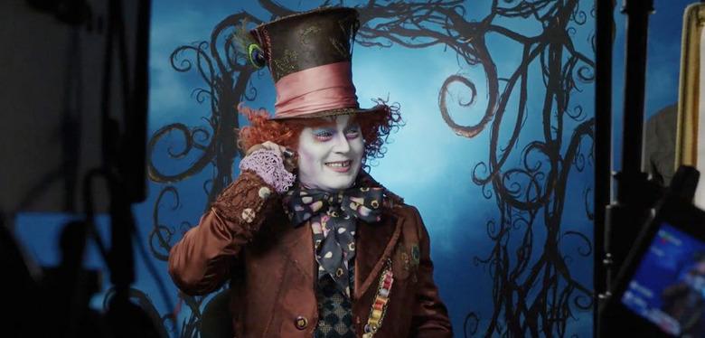 Johnny Depp Mad Hatter Disneyland