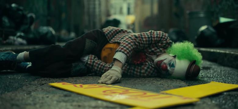joker opening scene